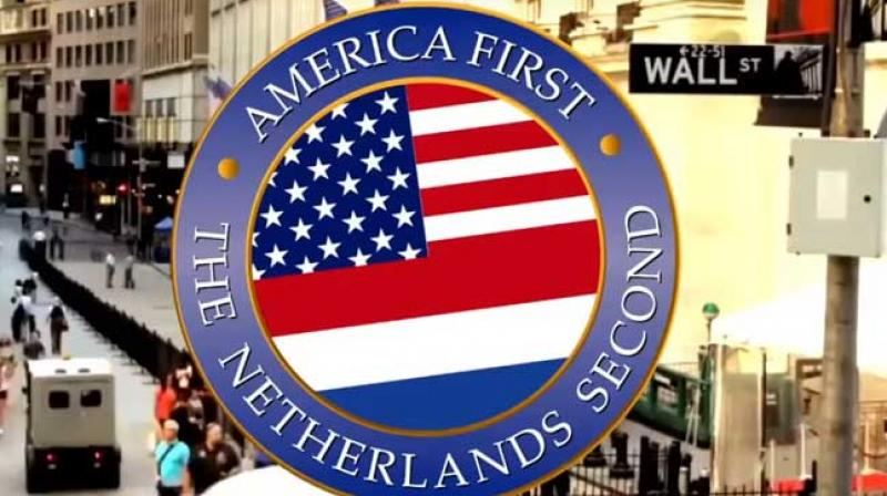 Video Viral Parodi America first The Netherlands Second