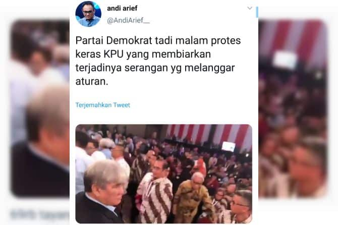 Video Viral Cekcok Debat Capres