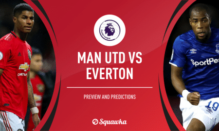 Manchester United Vs Everton Imbang Skor 1-1