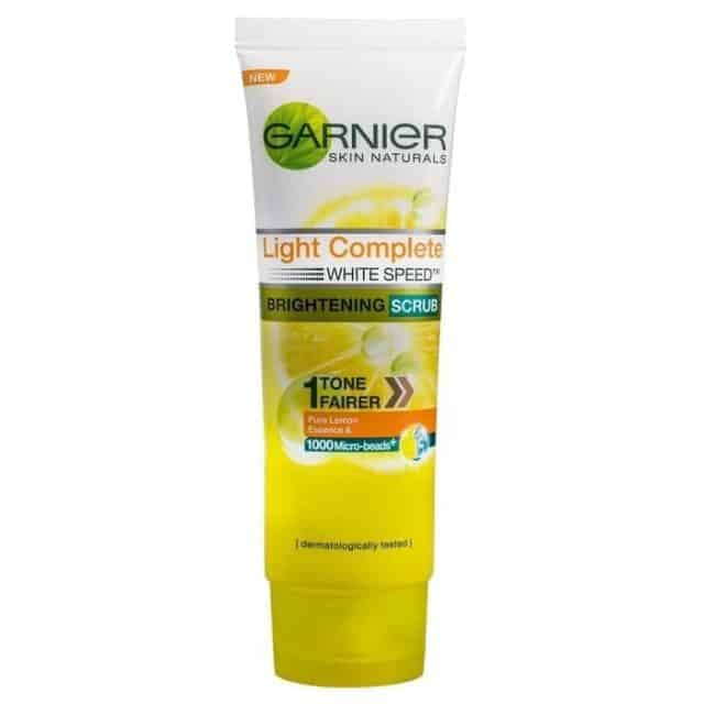 Garnier Products For Whitening Face