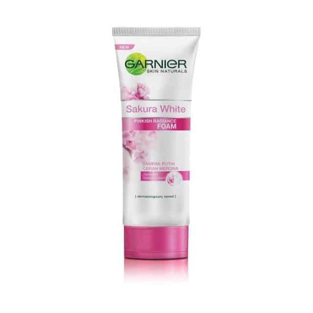Garnier Sakura White Cleanser Facial Foam