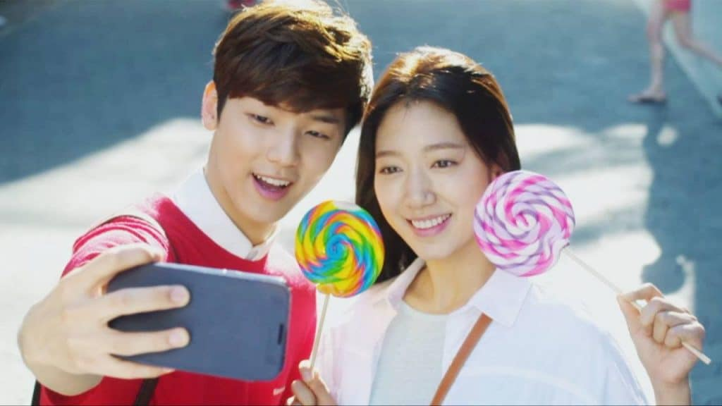 Min Hyuk and Shin Hye