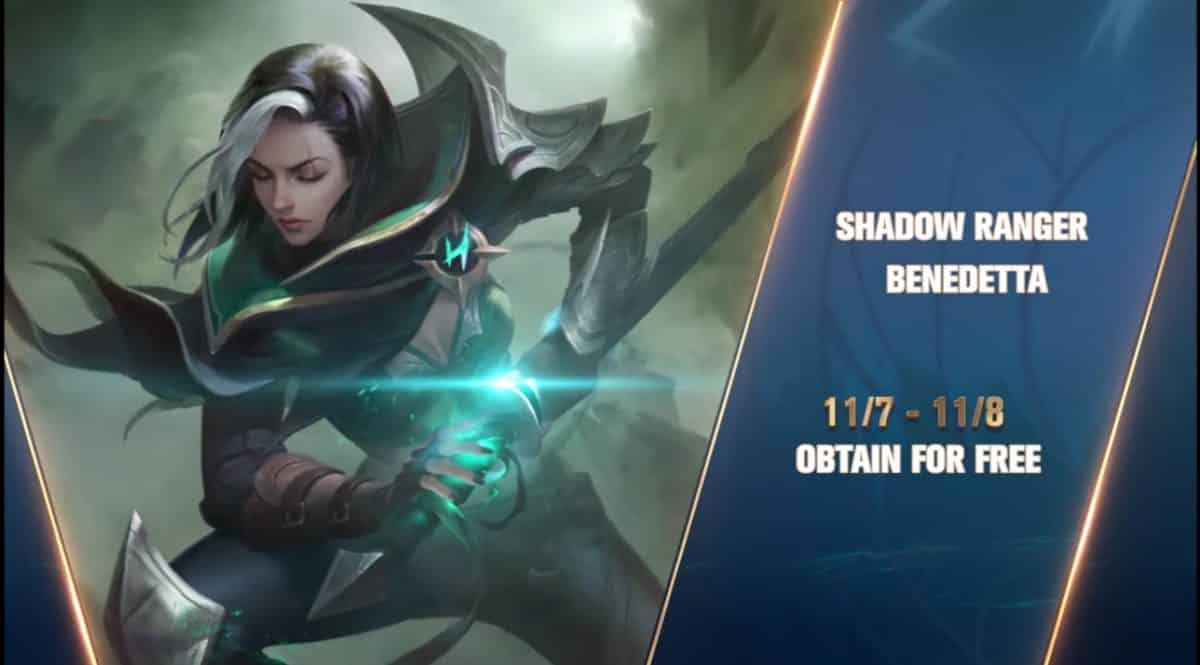 Mobile Legends Akan Membagikan Hero Assassin Benedetta Gratis