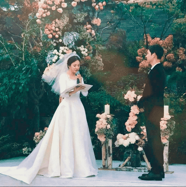 Song Joong Ki and Song Hye Kyo's Wedding