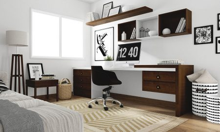 Comfortable And Simple Workspace Design