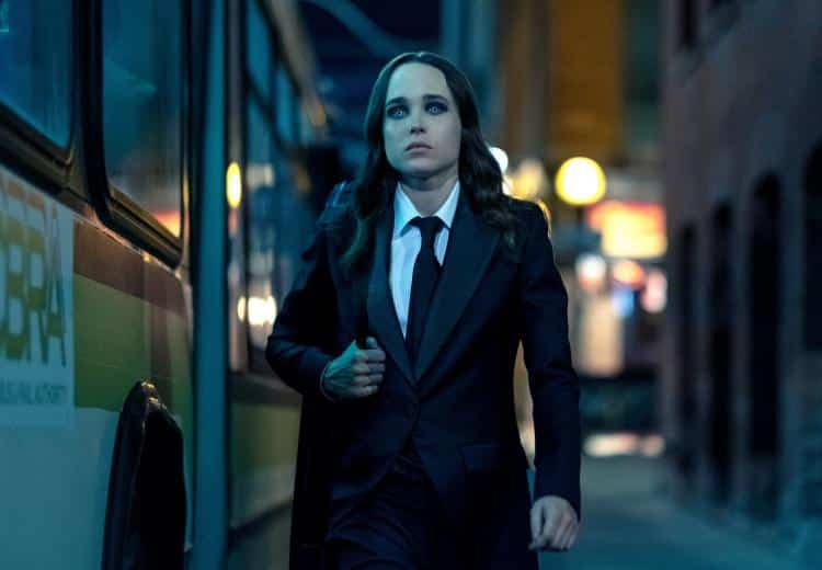 Ellen Page Tetap Di The Umbrella Academy