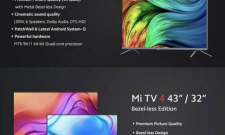Xiaomi Mi TV 4 Bezel-Less Edition