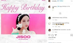 Jisoo Birthday