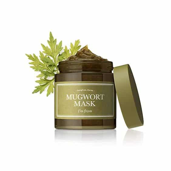 Mugwort Mask dari brand I'm From