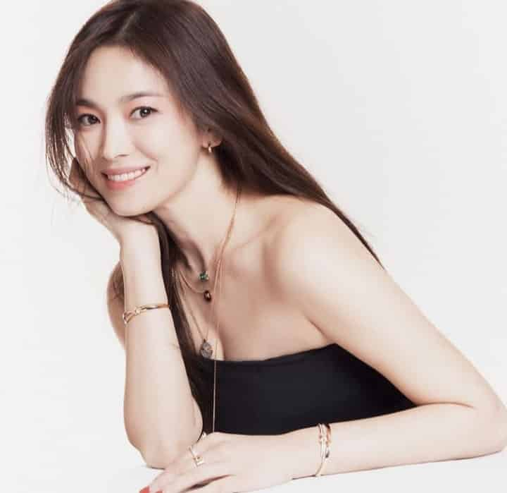 Korean drama actress Song Hye Kyo