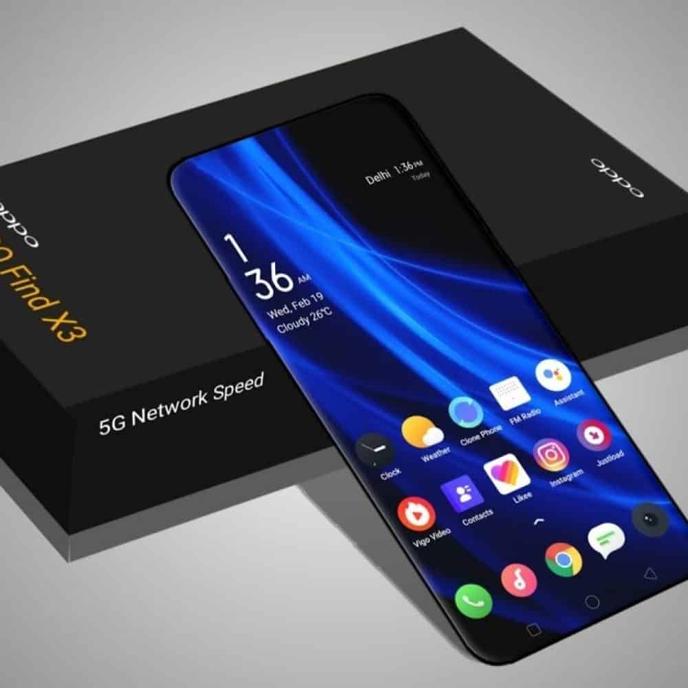 Sistem Android Oppo Find X3