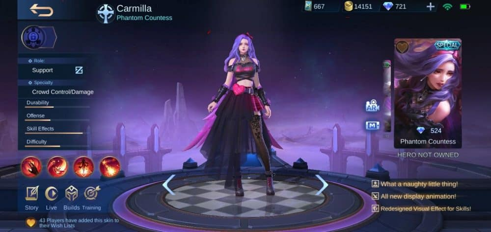 "Carmilla ""Phantom Countess"" Special"