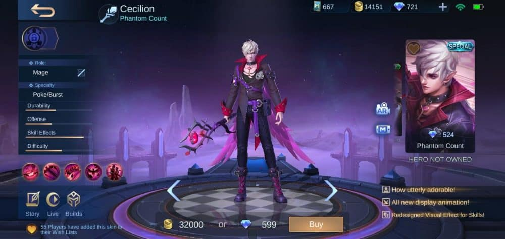 Skin Baru Mobile Legends