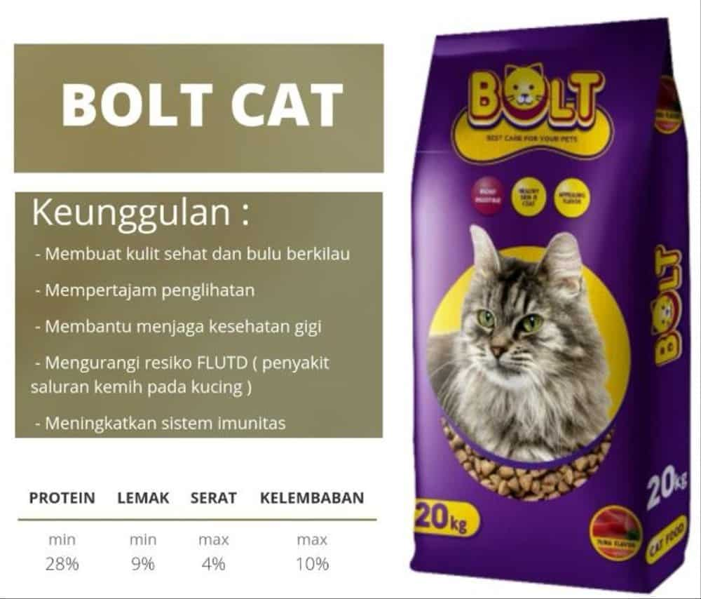 cat food bolt