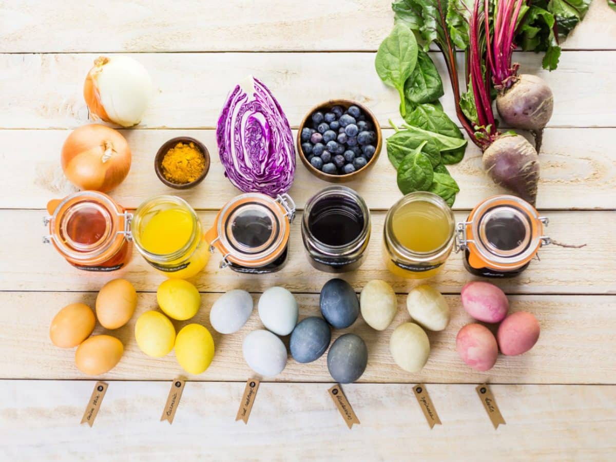 How To Make Easter Eggs Safe With Natural Dyes