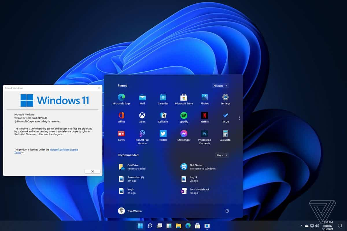 Leaked On The Internet, Here's How Windows 11 Looks